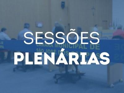 sessões plenárias